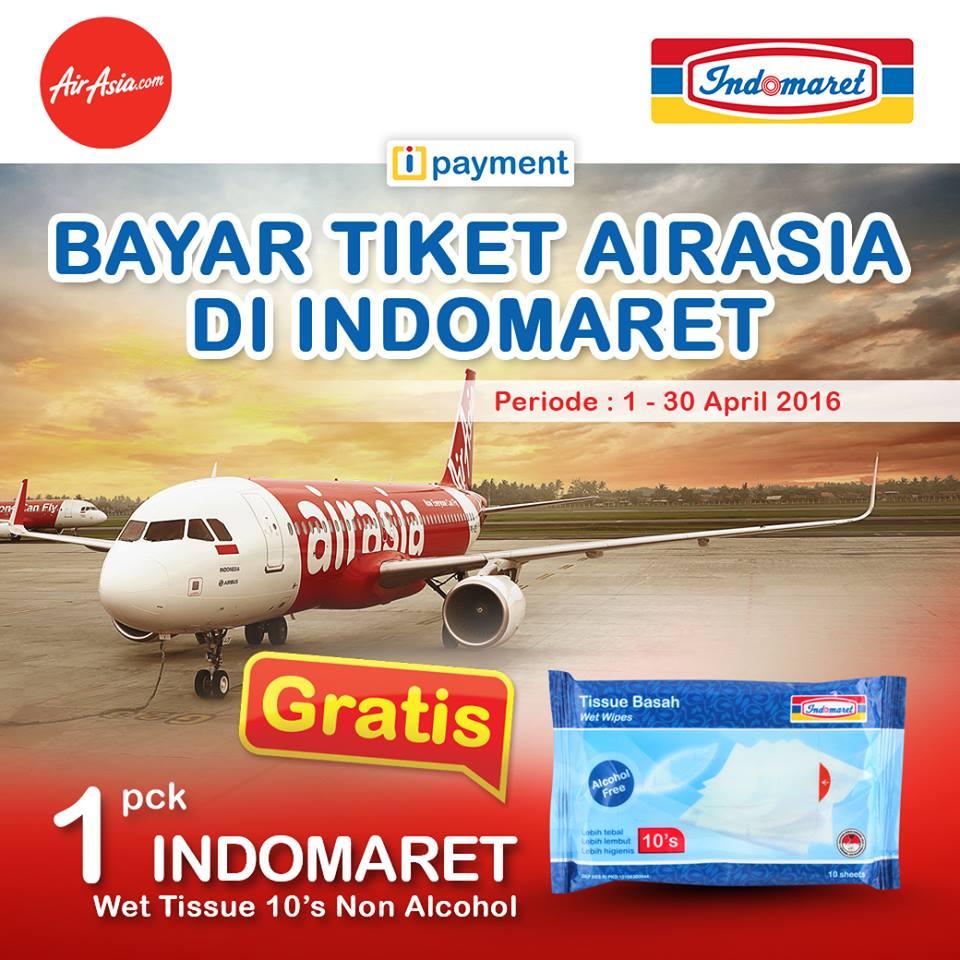 Bayar Tiket Airasia Di Indomaret Dapat Promo Tebus Murah Air Asia