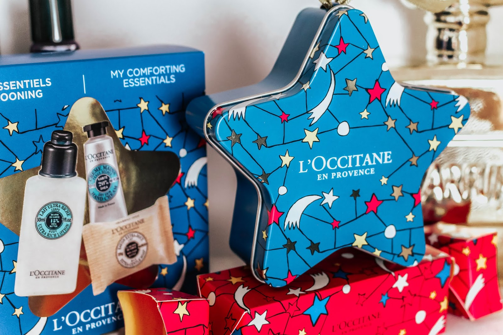 L'Occitane Small Christmas Gifts Star and Cracker