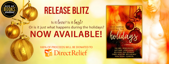 [New Release] WHAT HAPPENS DURING THE HOLIDAYS @GiveMeBooksBlog #Review #TheUnratedBookshelf