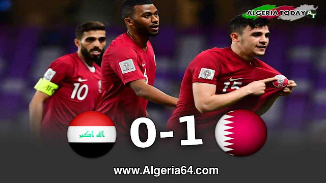 أهداف مباراة قطر تفوز على العراق