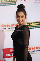 Vennela in Transparent Black Skin Tight Backless Stunning Dress at Mirchi Music Awards South 2017 ~  Exclusive Celebrities Galleries 005.JPG