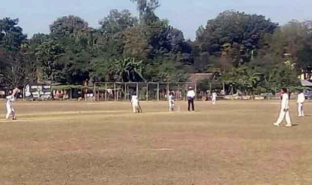 গাইবান্ধায় রংপুর বিভাগীয় ক্রিকেট প্রতিযোগিতা