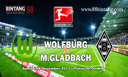 Prediksi Bola Wolfsburg vs Borussia Monchengladbach 04 Desember 2017