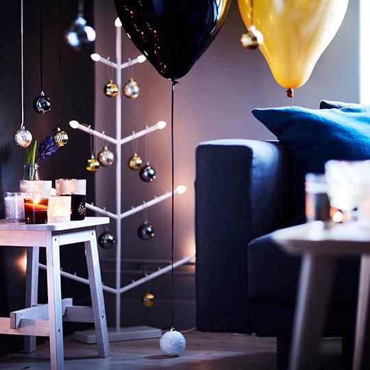 IKEA julen 2016, Stråla golvljusstake | www.var-dags-rum.se