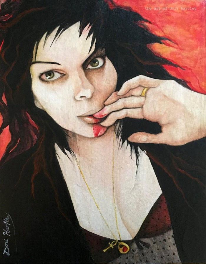 Темная и таинственная живопись