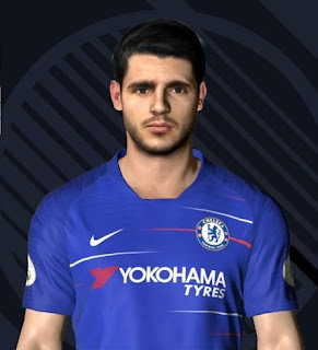 PES 2017 Faces Alvaro Morata by Ben Hossam FaceMaker
