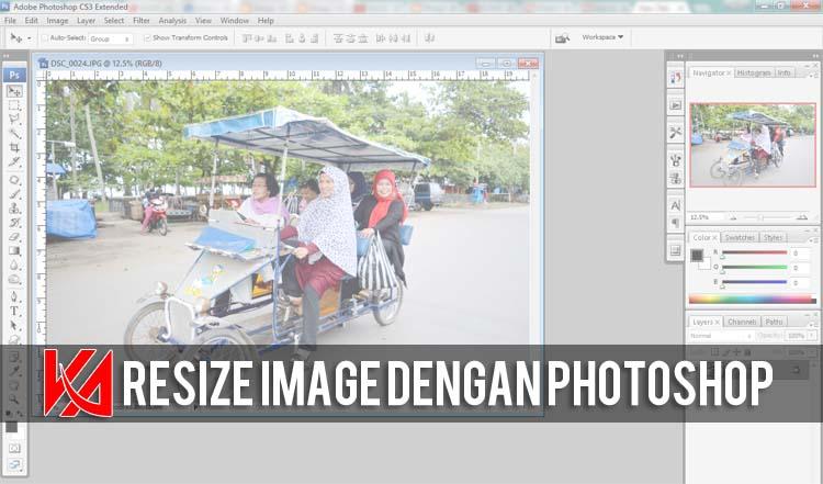 Cara Lain Resize Image Dengan Photoshop