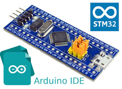 Program blue pill with STM32 Cores in Arduino IDE