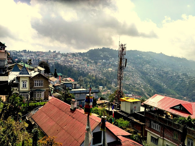 View of Darjeeling from Nightingale Park