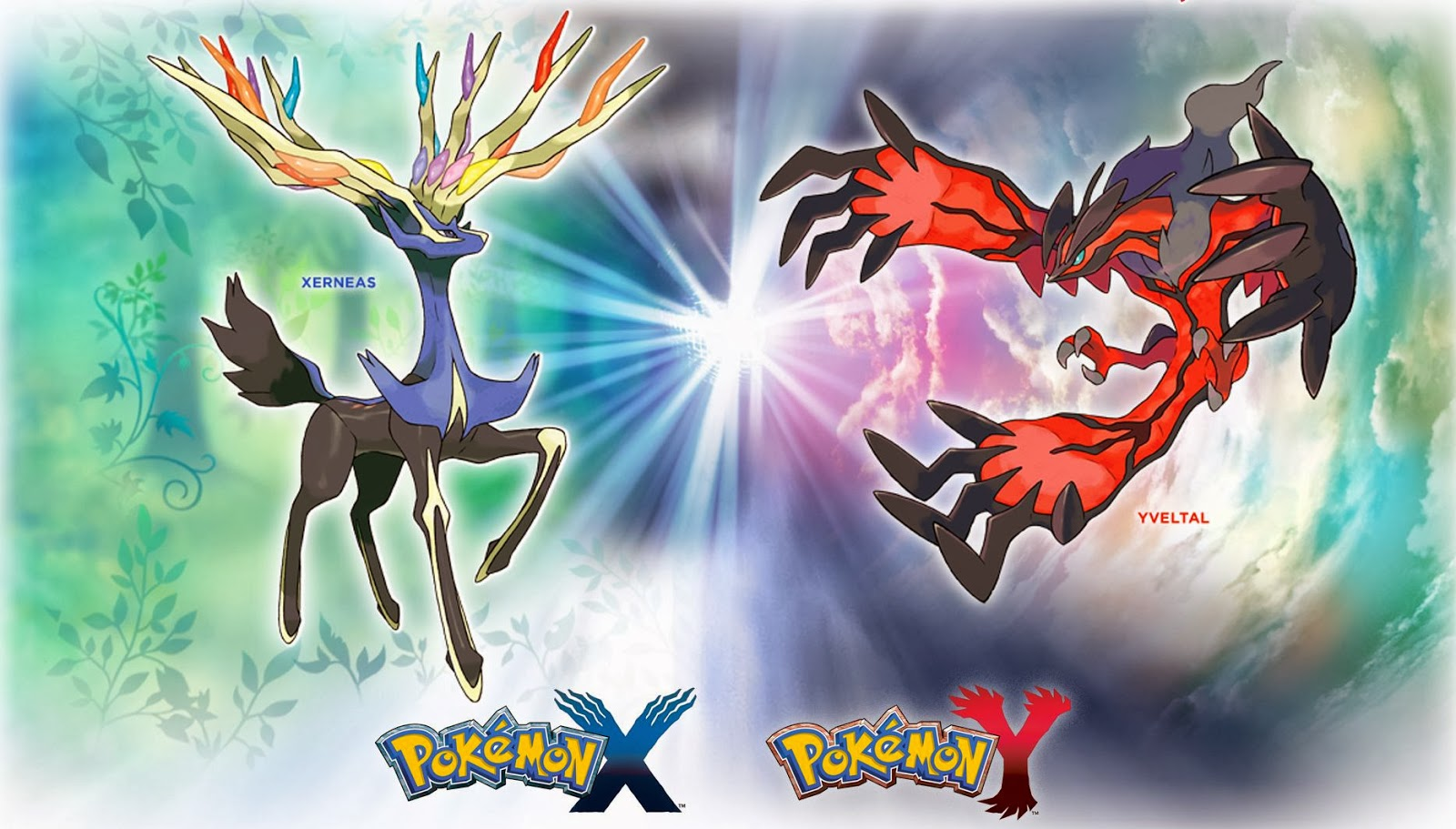 Most powerful Legendary Pokemon battle between Xerneas and Yveltal