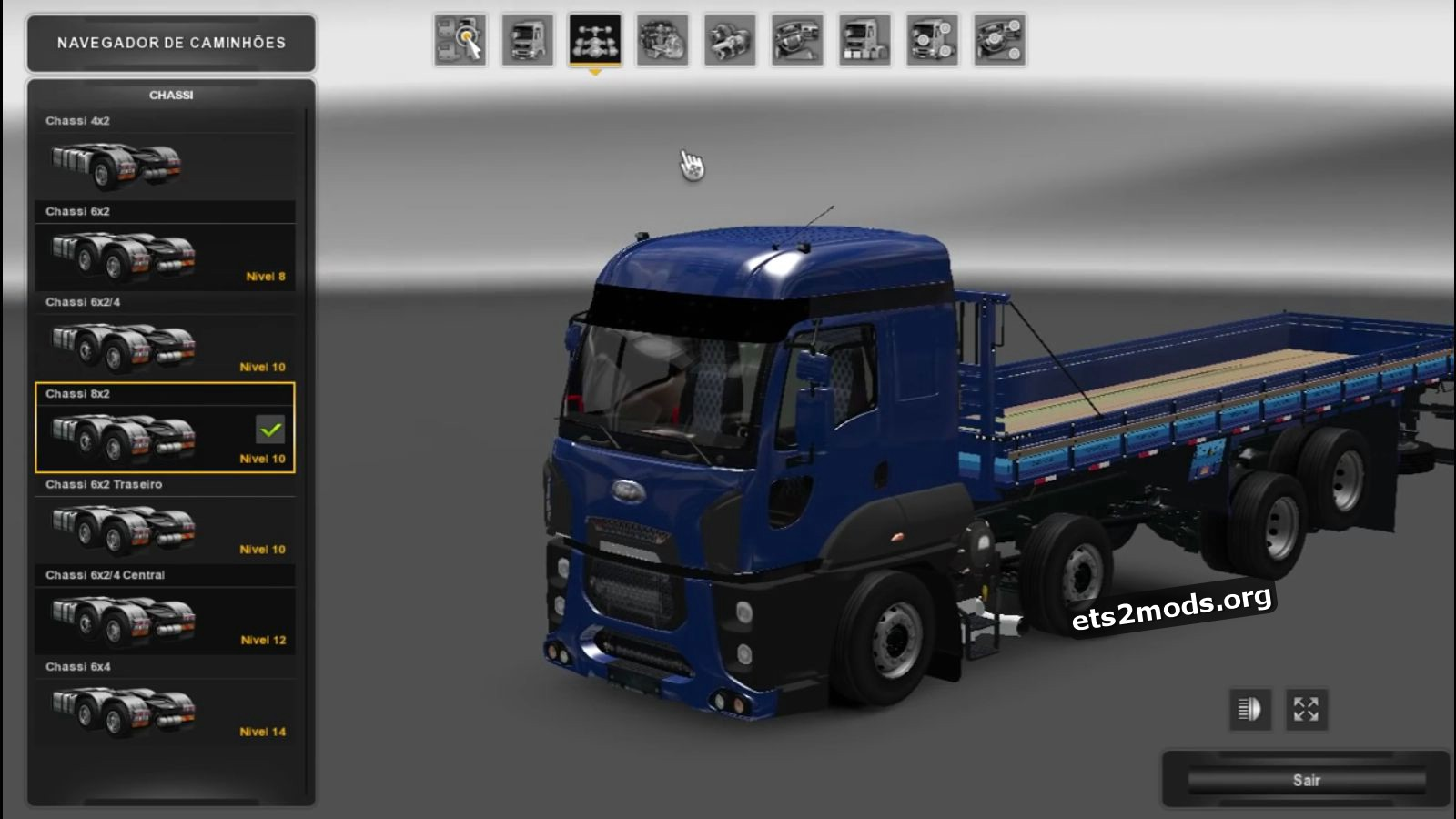 Truck - Ford Cargo 28-42
