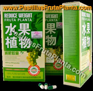 Pastillas fruta planta para bajar de peso