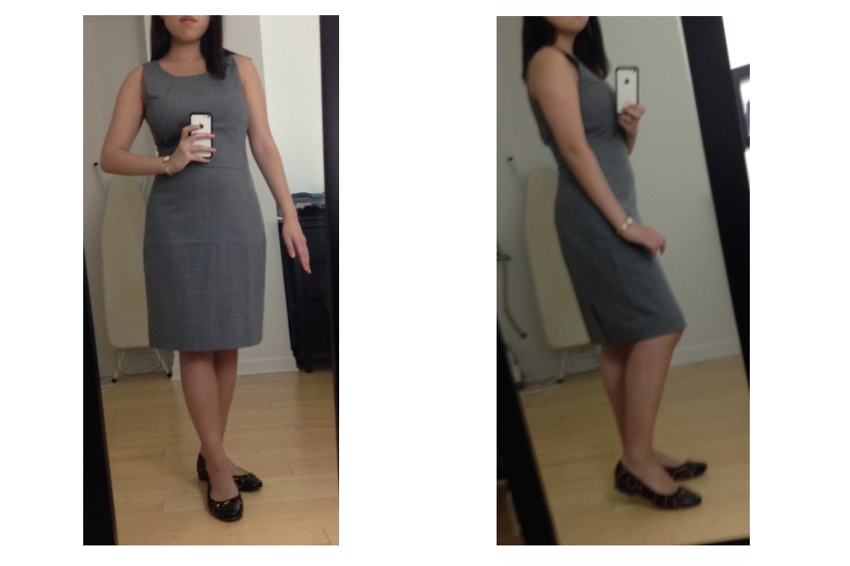 Invincible Summer: Review: J.Crew Factory Wool Sheath Dress