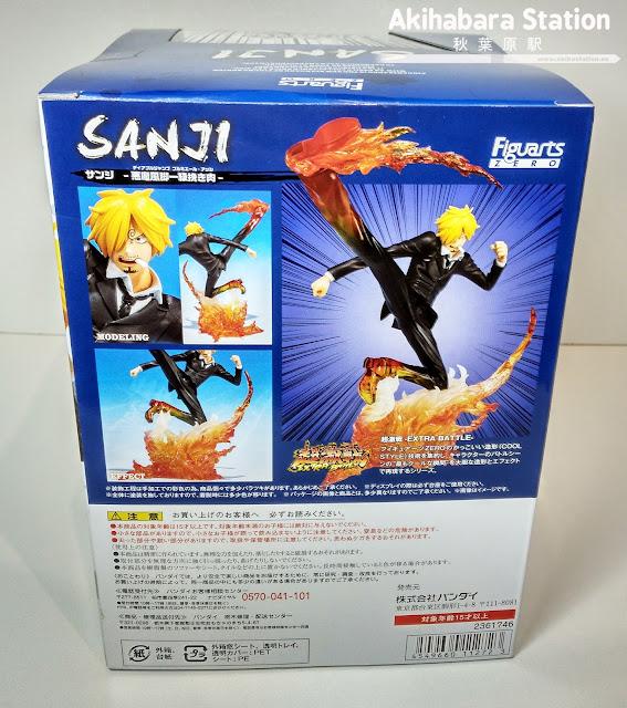 """Figuarts Zero One Piece """"Sanji - Diable Jambe Premier Haché -"""""""