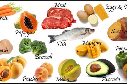 Macam-macam Vitamin Yang Dibutuhkan Tubuh