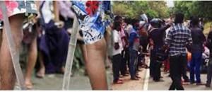 சுன்னாகம் நகர் பகுதியில் சற்றுமுன்னர் ரவுடிகள் வாள்களுடன் அட்டகாசம்!! மக்கள் சிதறி ஓட்டம்!!