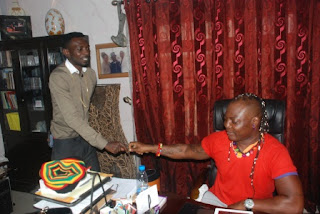 MAY+D - PHOTOS: May D visits Charlyboy To Seek blessings for Abuja show