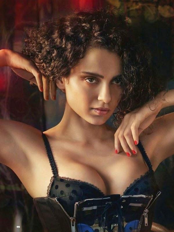 kangana ranaut Bikini Hot & bold New Bollywood Actress Pics 2016 on maxim