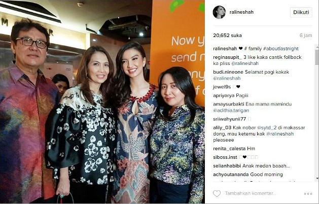 Belahan Dada Raline Shah Bikin Melongo Para Netizen