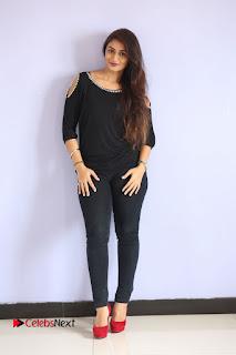 Kiran Chetwani Pictures in Black Jeans at Lakshmidevi Samarpinchu Nede Chudandi Platinum Disc Function ~ Celebs Next