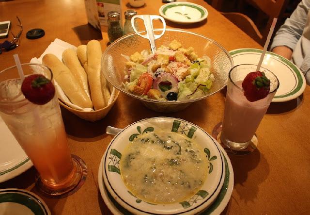 Restaurante Olive Garden em Orlando