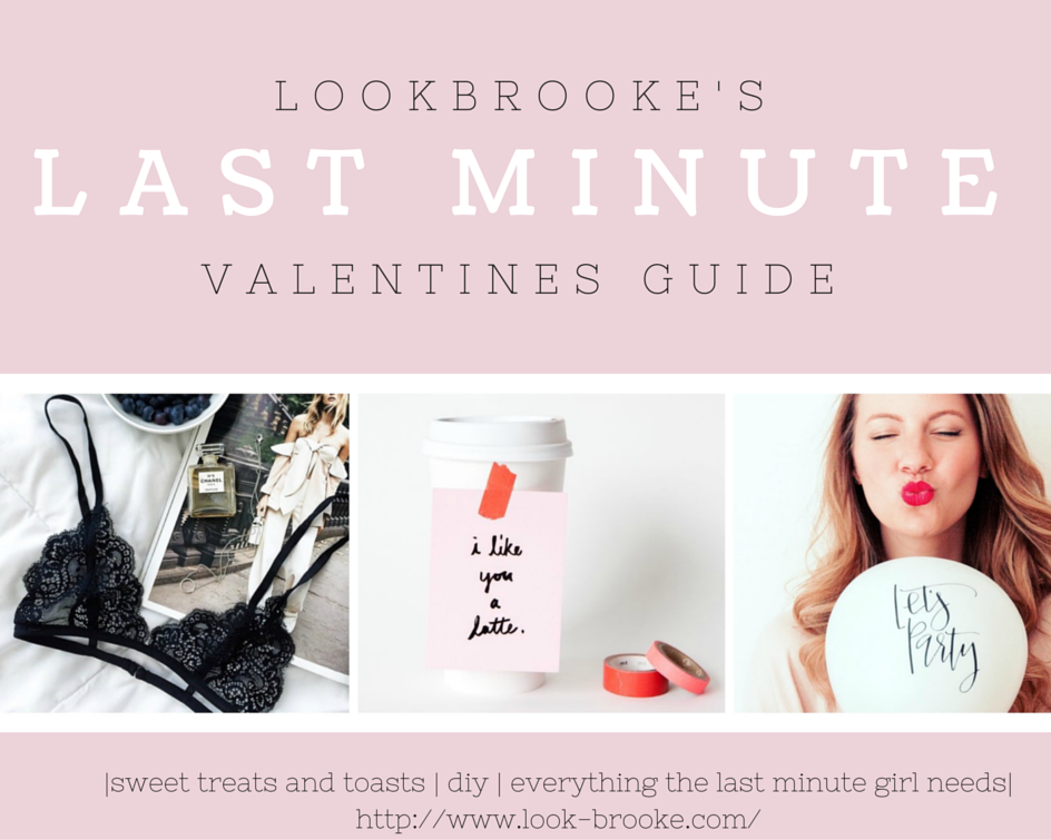 Last Minute Valentine's Guide, recipes, DIY, drinks