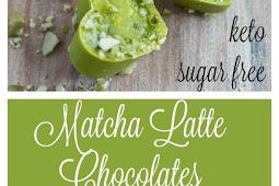 SUGAR FREE MATCHA LATTE CHOCOLATES