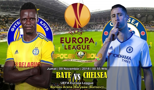Prediksi BATE Vs Chelsea 09 November 2018
