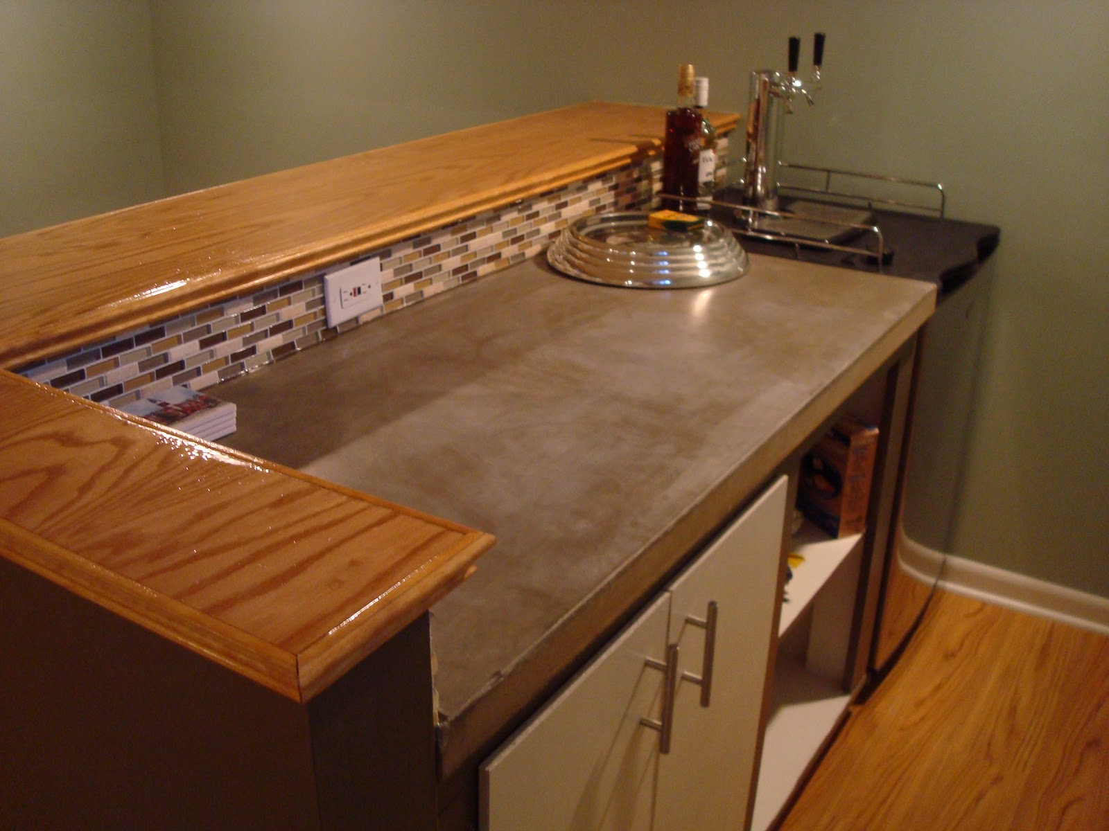Basement Renovation: A Wet Before To A