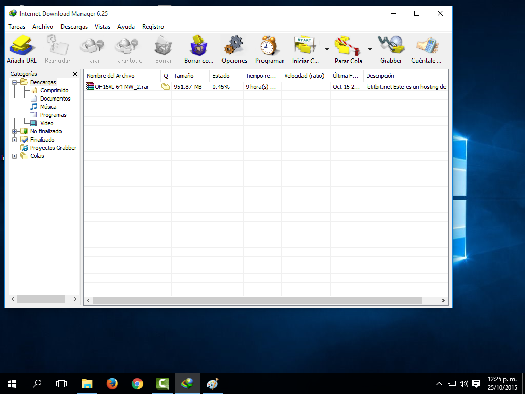 Internet Download Manager 6.25 full + crack ~ Tus programas FULL