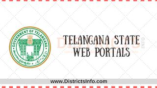 Telangana State  Web Portals |Telangana Govt official websites