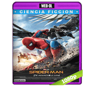 Spiderman: De Regreso a Casa (2017) Web-DL 1080p Audio Dual Latino/Ingles 5.1