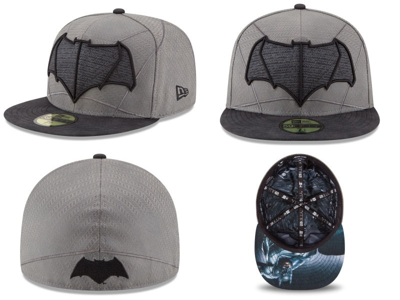 Batman V Superman Dawn Of Justice Armor 59Fifty Fitted Hat By New Era