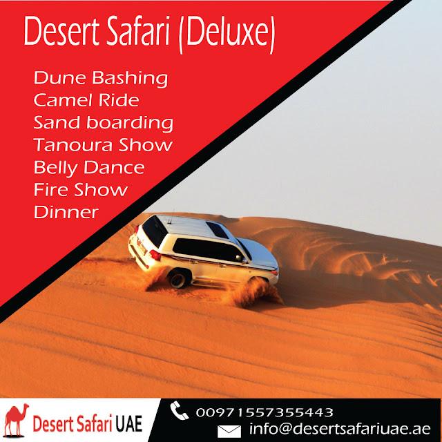 Deluxe Desert Safari Dubai