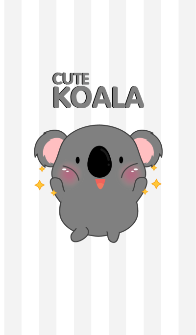 Cute Fat Koala Theme