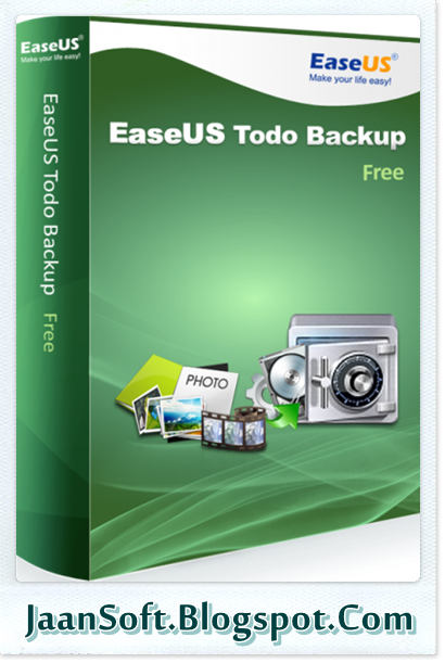 EaseUS Todo Backup Free 10 Download Latest Version