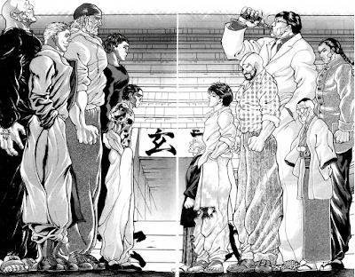 Baki the Grappler anime mangá Keisuke Itagaki