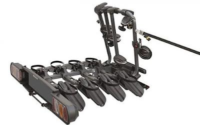 Peruzzo COMO 4 Odchylany bagażnik na hak 4 rowery