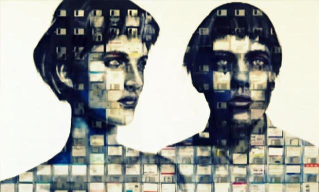 lukisan dari disket