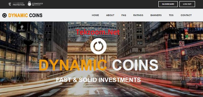 [SCAM] Review DynamicCoins - Lãi 5 - 8% hằng ngày cho 15 - 32 ngày - Đầu tư tối thiểu 20$ - Thanh toán Manual