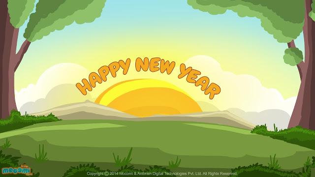 Happy New Year HD Wallpaper 2018