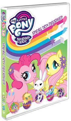 Shout! Factory My Little Pony – Friendship is Magic: Spring into Friendship DVD ~ #Review #Giveaway