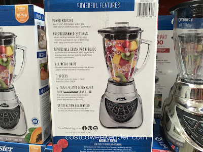 Oster Pro 500 Blender - All the features you need to prepare your favorite foods and drinks