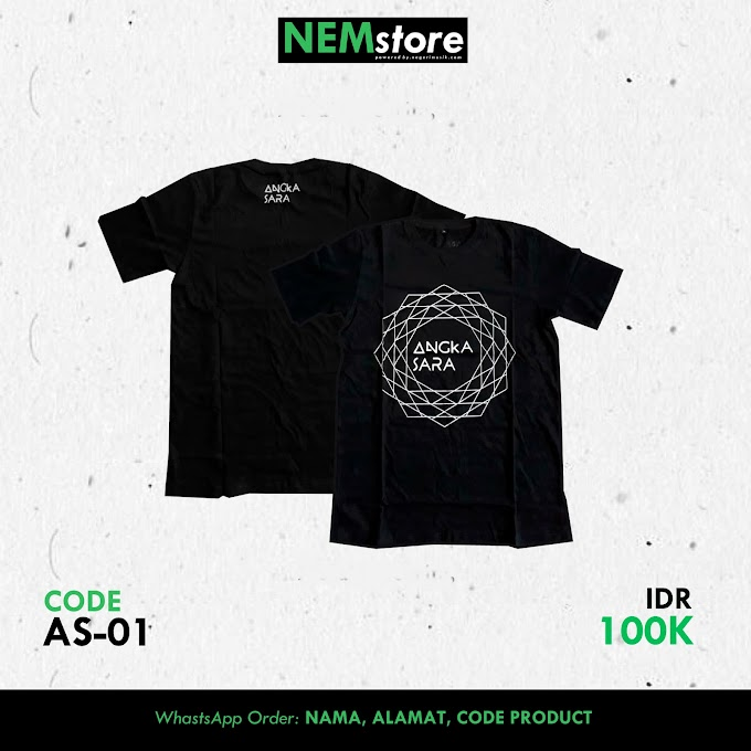[T-SHIRT] ANGKASARA OFFICIAL (BLACK)