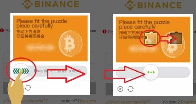 login binance puzzle prueba comprar bts