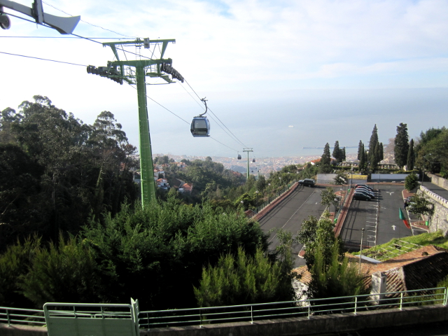 Madeira, Funchal Cable Car Teleferico