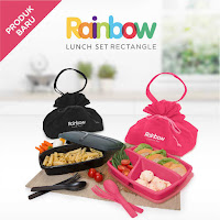 Dusdusan Rainbow Lunch Set Rectangle ANDHIMIND