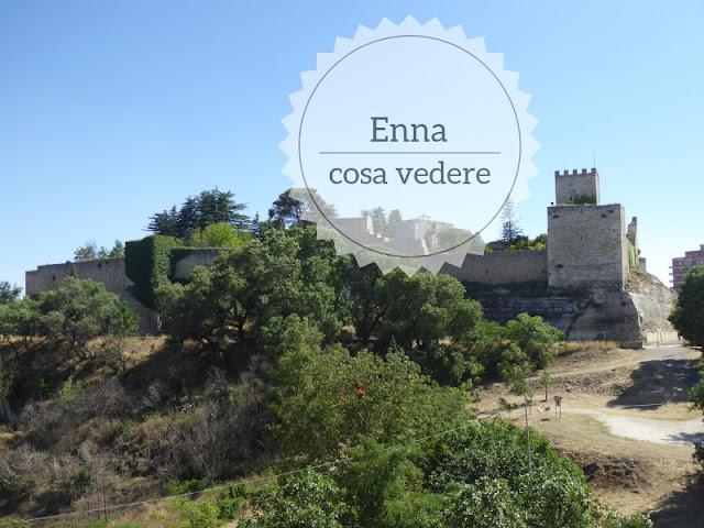 Cosa vedere a Enna: passeggiata nel centro storico. il castello di lombardia