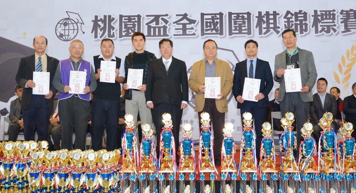 這次比賽邀請到2位棋王一同出席活動,一位是LG世界棋王周俊勳,另一位則是2017台灣棋王林君諺。