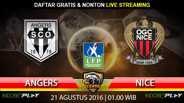Prediksi Angers vs Nice 21 Agustus 2016 (Liga Prancis)